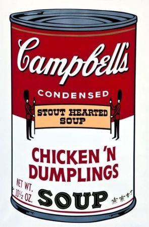 Sérigraphie Warhol - Campbell's Soup Chicken 'n' Dumplings F&S II.58