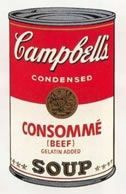 Sérigraphie Warhol (After) - Campbells soup consomme