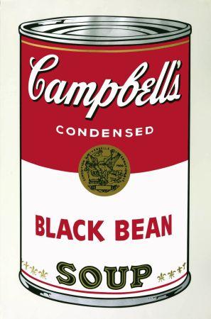 Aucune Technique Warhol - Campbell's Soup I: Black Bean (FS II.44)