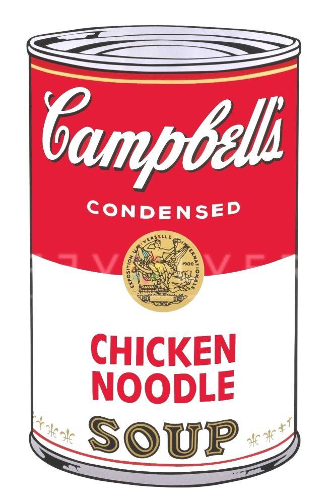Sérigraphie Warhol - Campbell's Soup I: Chicken Noodle (FS II.45)