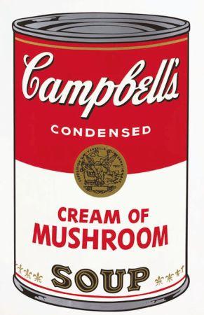 Sérigraphie Warhol - Campbell's Soup I: Cream of Mushroom (FS II.53)