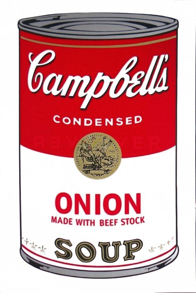 Sérigraphie Warhol - Campbell's Soup I: Onion (FS II.47)