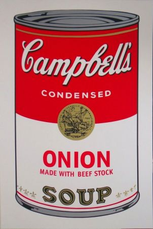 Sérigraphie Warhol - Campbell's Soup I: Onion (FS II.47)
