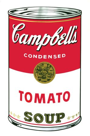 Sérigraphie Warhol - Campbell's Soup I: Tomato (FS II.46)