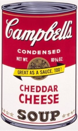 Sérigraphie Warhol - Campbell'S Soup Ii: Cheddar Cheese