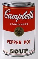 Sérigraphie Warhol (After) - Campbells soup pepper pot
