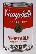 Sérigraphie Warhol (After) - Campbells soup vegetable