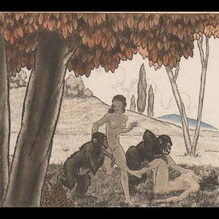 Livre Illustré Leroy  - Candide, ou l'optimisme