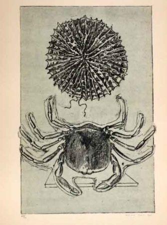 Lithographie Ernst - Cangrejo