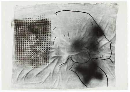 Lithographie Tàpies - Cannage