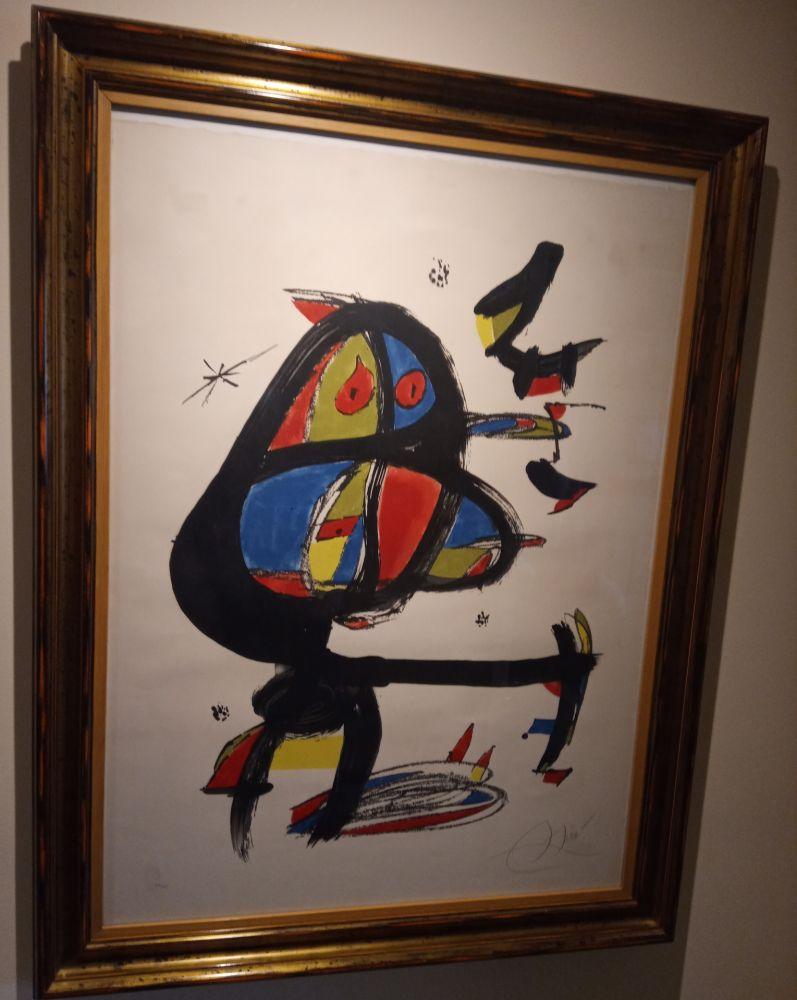 Lithographie Miró - Cap i Cua