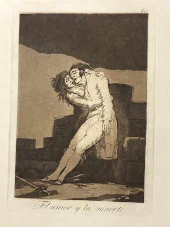 Eau-Forte Goya - Capricho10. El amor y la muerte