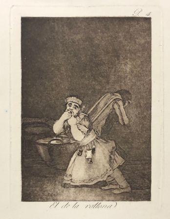 Eau-Forte Goya - Capricho 4. El de la rollona