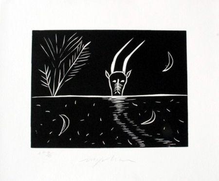 Linogravure Paladino - Capricorno