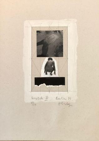 Sérigraphie Delay - Cariatide III, Bouliac 91