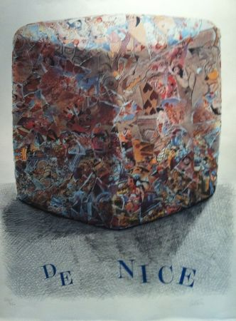 Lithographie Cesar - Carnaval de Nice