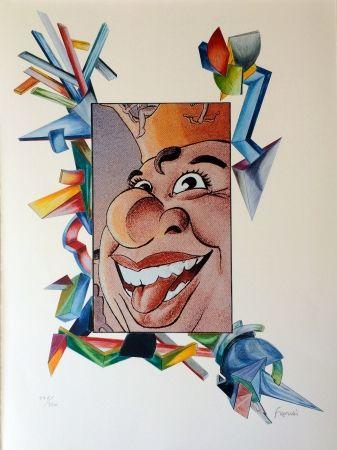 Lithographie Fahri - Carnaval de Nice