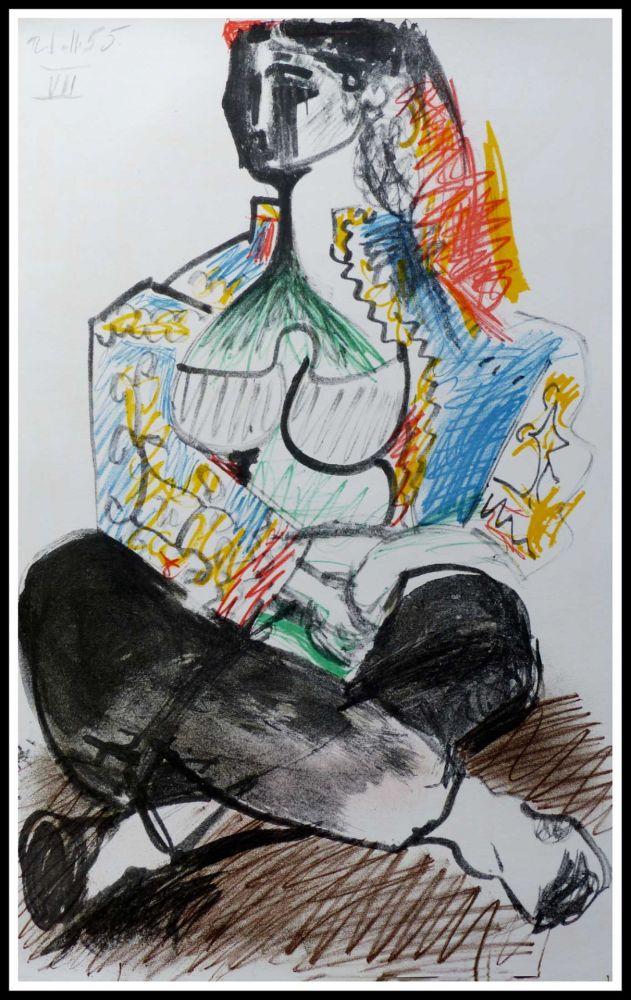 Lithographie Picasso (After) - CARNET DE CALIFORNIE VIII