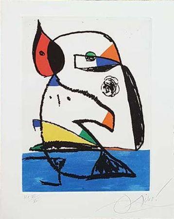 Gravure Miró - Carnets catalans