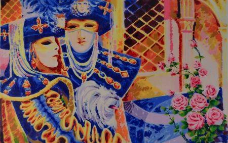 Sérigraphie Faccincani - Carnevale veneziano