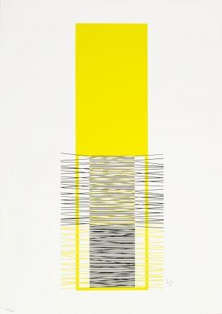 Sérigraphie Soto - Caroni (Yellow)