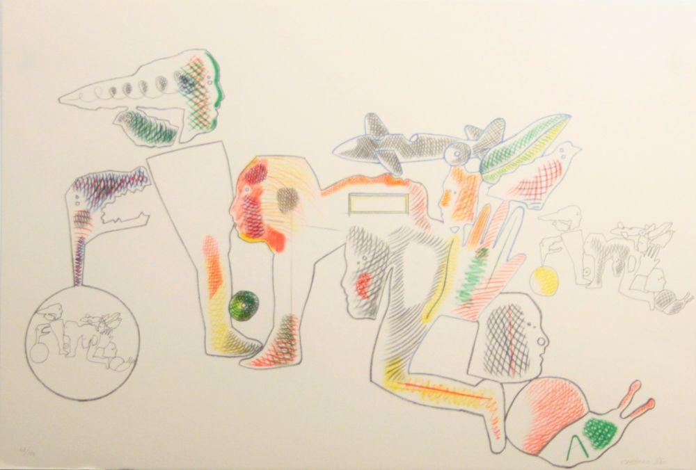 Lithographie Castillo - Carpeta 12 Aniversari Galeria Joan Prats