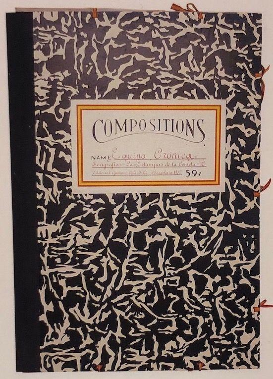 Sérigraphie Equipo Cronica - Carpeta compositions