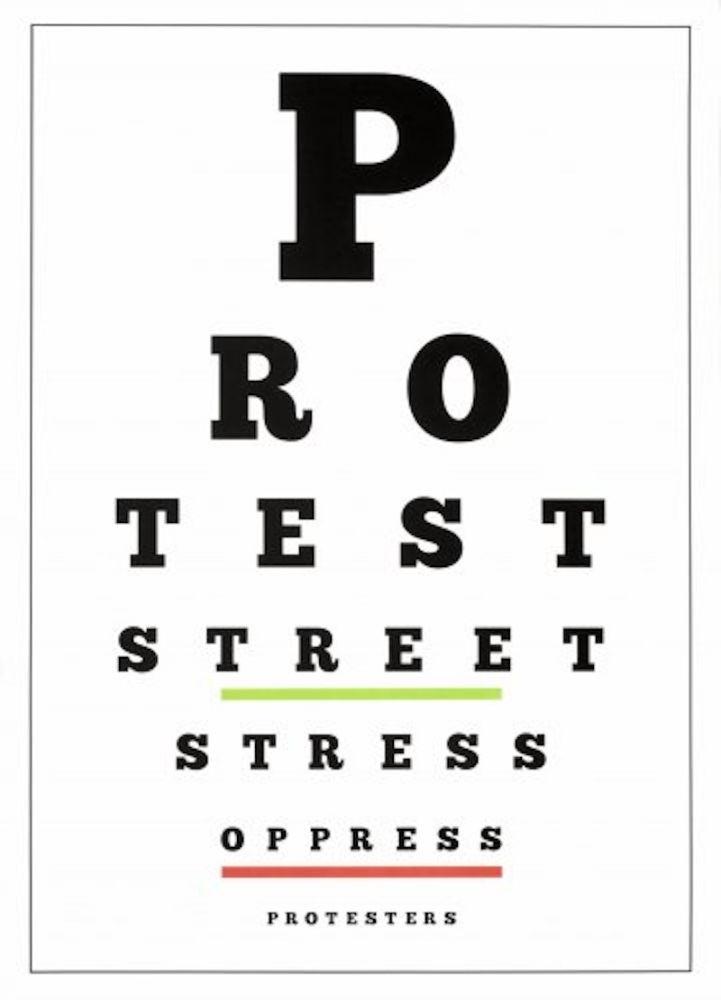 Lithographie Navarro - Carta Visual (Protest)