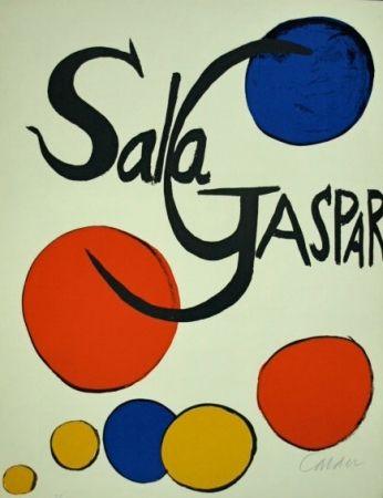 Lithographie Calder - Cartel Sala Gaspar