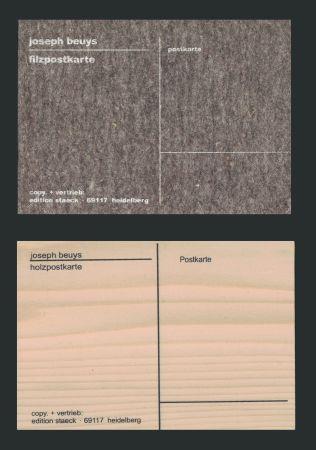 Sérigraphie Beuys - Cartes Postales