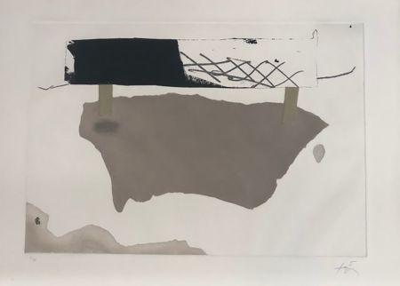 Gravure Tàpies - Cartró