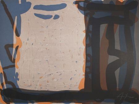 Lithographie Arranz-Bravo - Casa con anaranjada