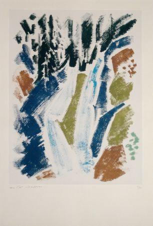 Eau-Forte Masson - Cascade bleue