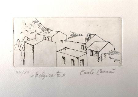 Eau-Forte Carra - Case a Belgirate