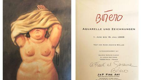 Aucune Technique Botero - Catalogue dédicacé