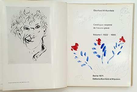 Livre Illustré Chagall - Catalogue De L'oeuvre Gravé - Dessin
