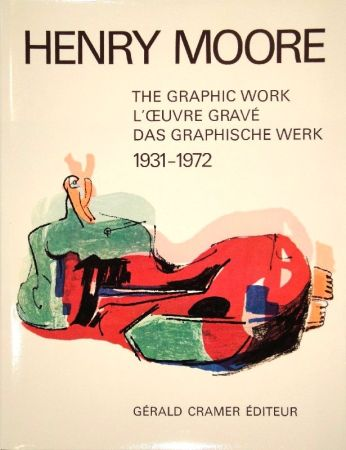 Livre Illustré Moore - Catalogue of the graphic work. 1931-1972.