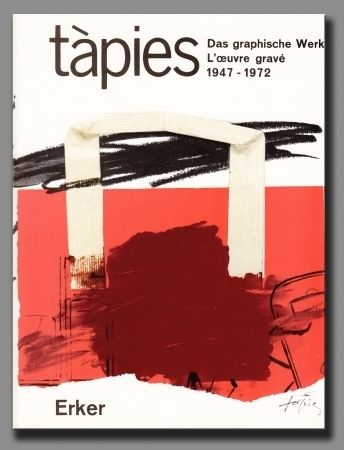 Livre Illustré Tàpies - Catalogue raisoné I