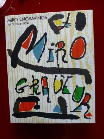 Livre Illustré Miró - Catalogue raisonné des gravures