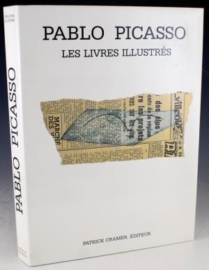 Livre Illustré Picasso - Catalogue raisonné des livres illustrés 1983
