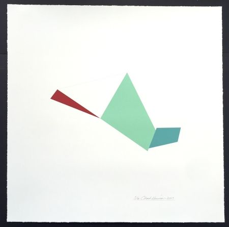 Sérigraphie Hinman - Catapult, from Kites Suite