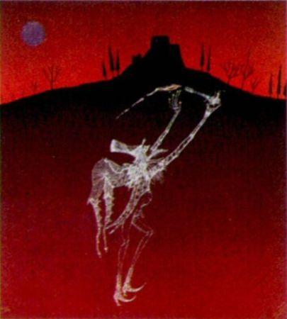 Lithographie Perez  - Catellnou-1