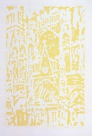 Lithographie Lichtenstein - Cathedral I