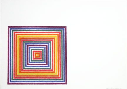 Lithographie Stella - Cato Manor (1973)State Ii: Multicolored Squares,