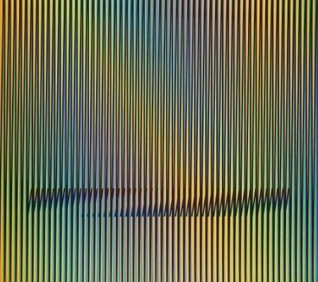Lithographie Cruz-Diez - Caura-1