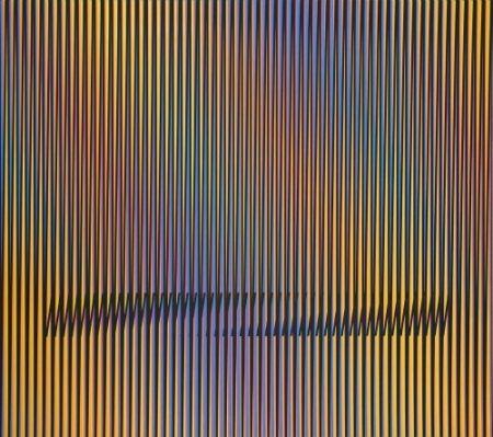 Lithographie Cruz-Diez - Caura-4