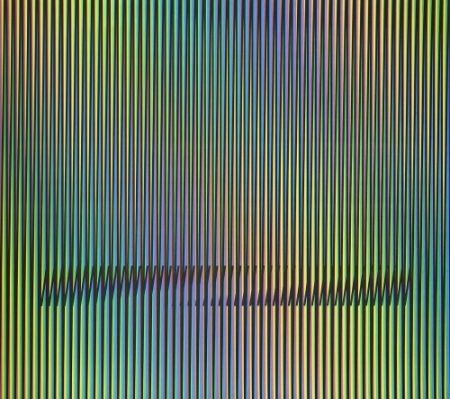Lithographie Cruz-Diez - Caura-7