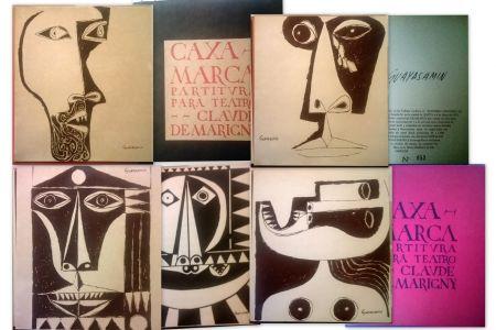 Livre Illustré Guayasamin - Caxa Marca - Partitura para teatro