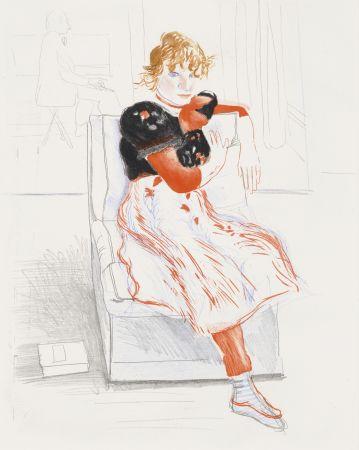 Aucune Technique Hockney - Celia Observing