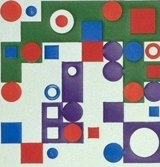 Gravure Vasarely - Celona